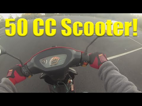 How to drive a 50cc moped