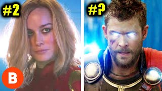 The Most Powerful Characters In The Marvel Universe Ranked