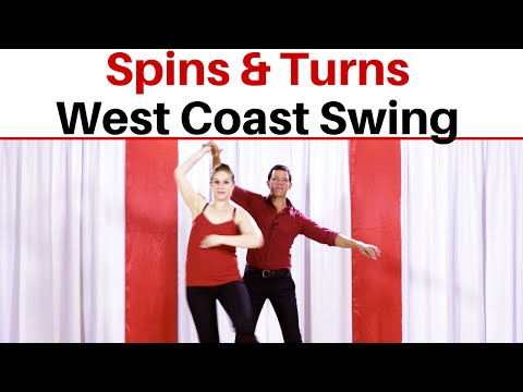 West Coast Swing Spins and Turns | Turn Technique