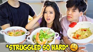 SIBLINGS SPEAKING ONLY KOREAN TO FIANCE FOR 24 HOURS!! So frustrating!