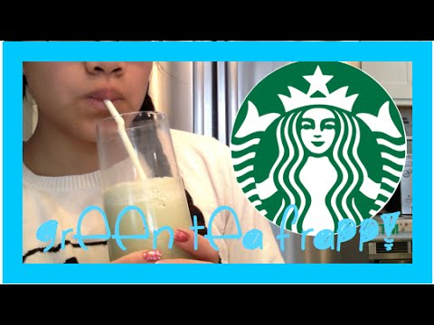 DIY Green Tea Frappuccino || Starbucks