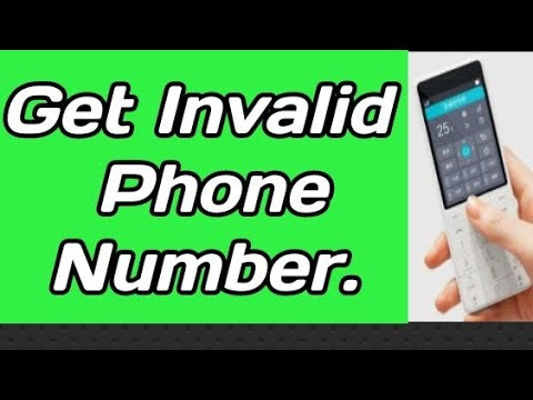 How To Make your phone Number invalid ||🔥 When Someone call you and found invalid.🔥