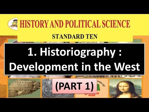 1. Historiography : Development in the West - 10th Maharashtra Board New Syllabus