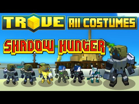 Trove - All Shadow Hunter Costumes (July 2015)!