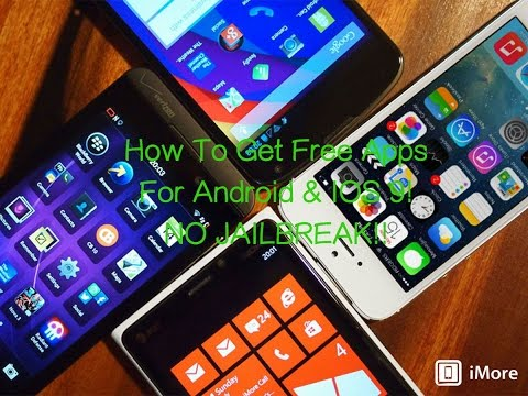 How To Get FREE Apps For IOS 10+ & Android !!NO JAILBREAK!!