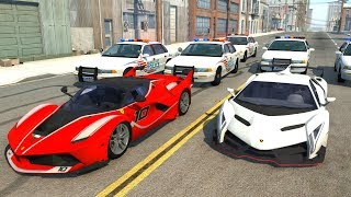 Extreme Police Chases Crashes&Fails #19 - BeamNG Drive