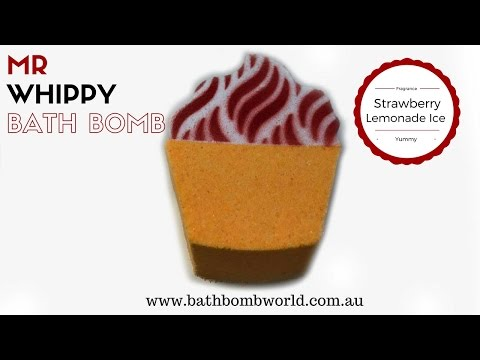 Mr Whippy Bath Bomb Demo and Instructions