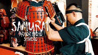 【ENG SUB】How To Wear The Samurai Armor 侍 鎧・甲冑の着方