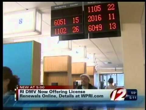 License renewals now online