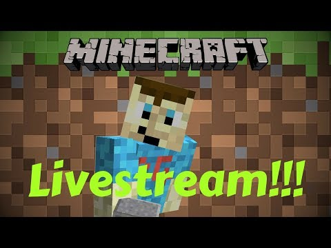 Minecraft Livestream: Time to Answer Questions!!!