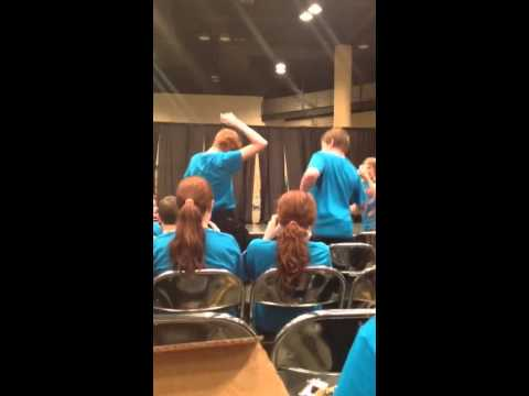 Cole and Jacob Dancing at 2015 Beta