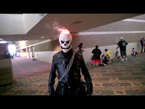 Ghost Rider flame effect