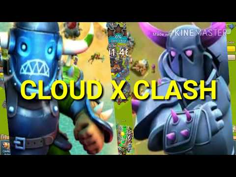 Cloud Raiders X Clash Of Clans