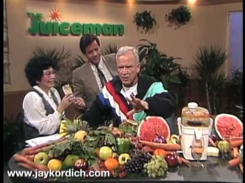 Jay Kordich Cabbage Juice Cures Stomach Ulcers