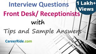 Reception Interview Questions And Answers | Careerride Videos The Most Popular High Quality Videos Download