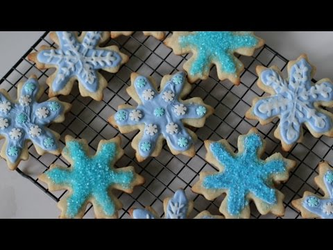 FROZEN Elsa Inspired Cookies - DIY Tutorial