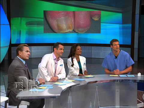 PinPointe Toe Fungus Treatment Featured on The Doctors