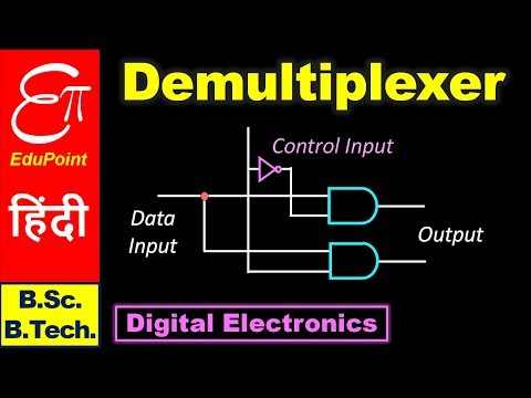 DEMULTIPLEXER || Digital Electronics in Hindi for B.Sc. and B.Tech.