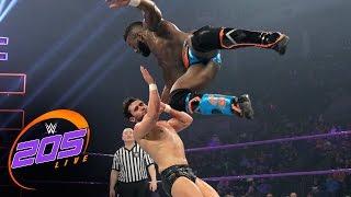 Cedric Alexander vs. Noam Dar: WWE 205 Live, Jan. 10, 2017