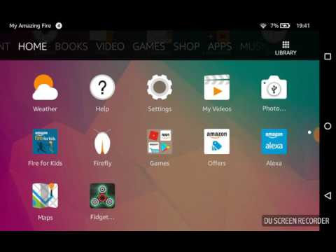 How to delete an app. (Super Easy)  (Amazon Fire)