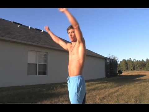 Learn Parkour Freerun Tricks - Cartwheel Arabian Tutorial