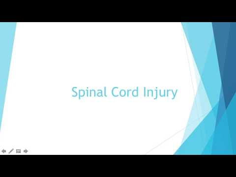 Intracranial Regulation Part 3: Spinal Cord Injury