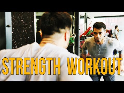 HOW TO CREATE A WORKOUT PLAN | STRENGTH WORKOUT
