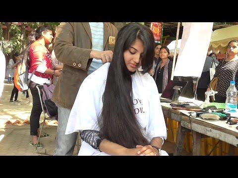 Open Air Haircut Series Epi # 6 ( Long Hair Model )