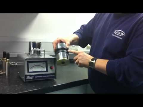 Shaw Moisture Meters - Changing the Head Seal Kit on the Model SADP