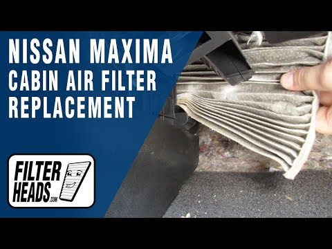 How to Replace Cabin Air Filter 2012 Nissan Maxima