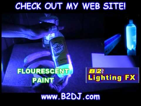 What glows with a Blacklight UV - Are all blacklights the same?
