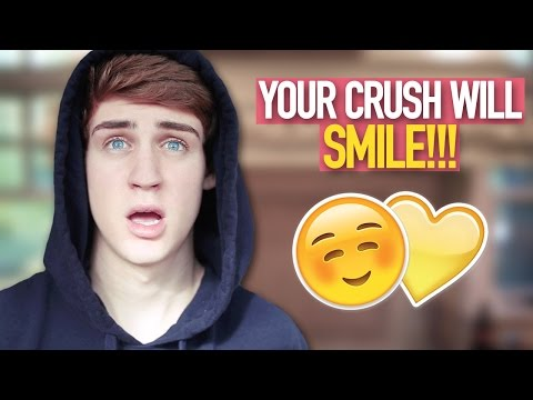 Cute Ways To Make Your Crush Smile! (BEST WAYS)
