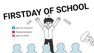 FIRST DAY OF SCHOOL ft. Asheru Animation   PINOY ANIMATION