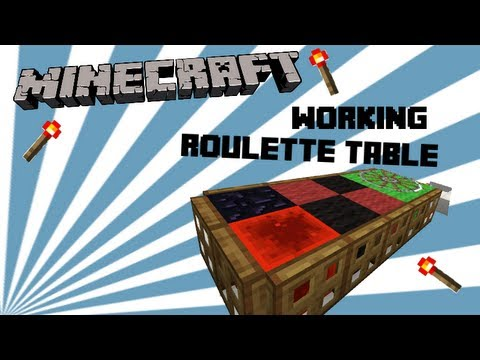 GTP : Minecraft - Fully Functional Roulette Table