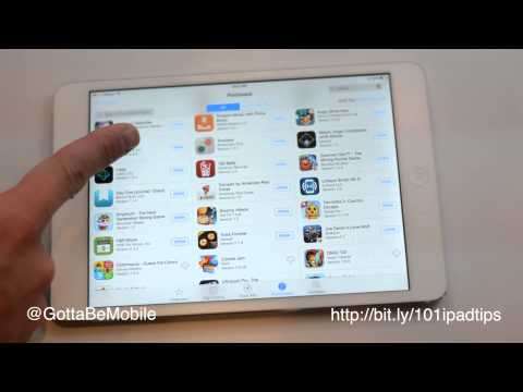 How to Download a Deleted App iPad