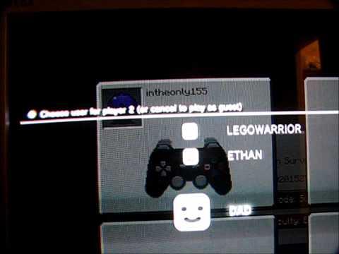 Split screen Minecraft on PS3 no HDTV
