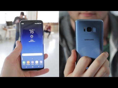 Samsung Galaxy S8 hands on review