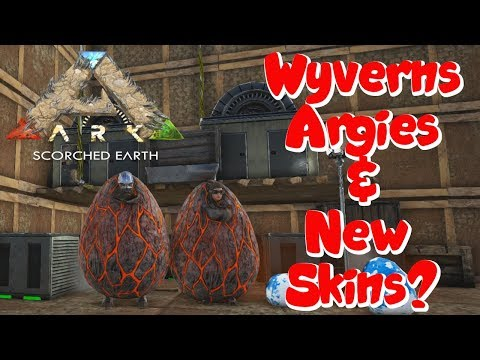 Ark Chronicles Server - Scorched Earth #3 - Wyvern Babies!