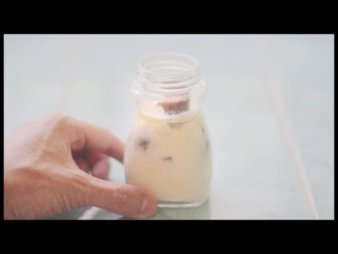 How to make curd (yogurt) starter from raw milk
