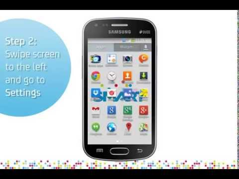 Samsung Galaxy S Duos 2: Turn on/off data services