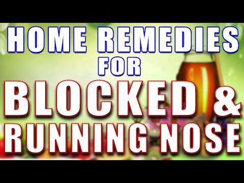 HOME REMEDIES FOR BLOCKED & RUNNING NOSE II बंद और बहती नाक के लिए घरेलू उपचार II