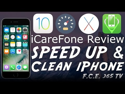 iOS 10.1 - How to Speed Up & Clean / Fix your iPhone / iPad / iPod with iCareFone