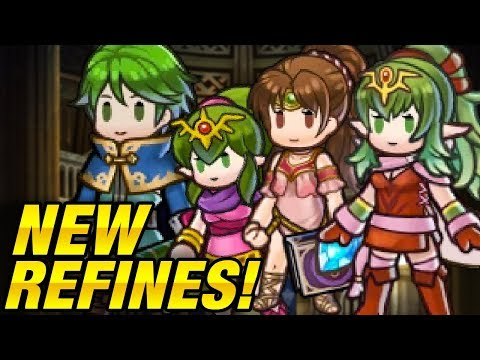 Weapon Refinery & Update News - Tiki, Linde & Merric Refine! - Fire Emblem Heroes Discussion