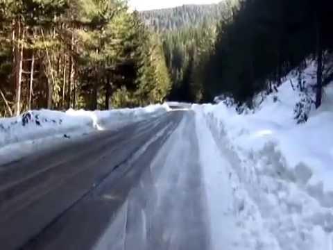 Тест: Drag Tundra на заледен път