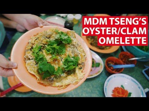Mdm Tseng's Oyster/Clam Omelette | Vanishing Recipes | CNA Insider