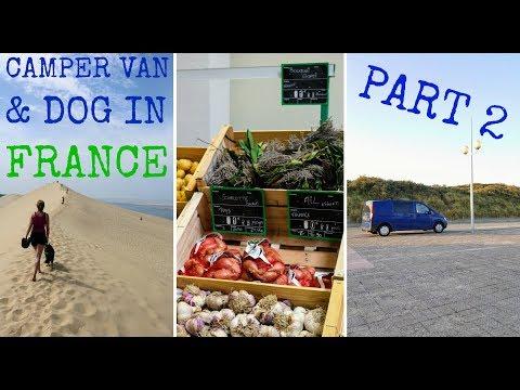 Mercedes Vito Camper Van Vlog France Part 2 | The Carpenter's Daughter