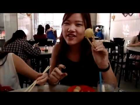 Malacca food trip chicken rice ball