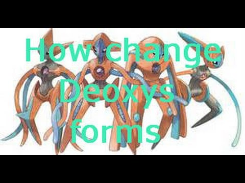 How to change Deoxys forms on Omega Ruby and Alpha Sapphire