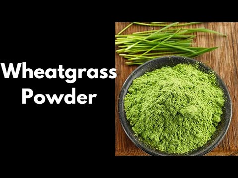 Best Wheatgrass Juice Powder 2018