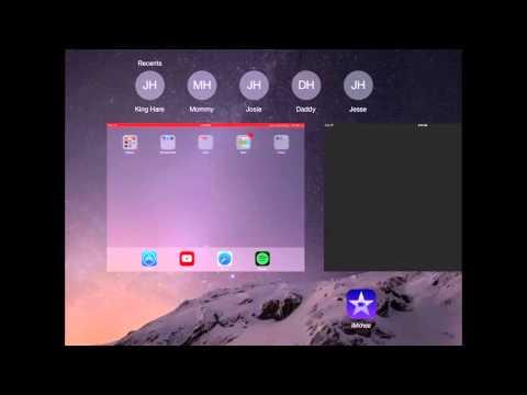 iMovie Special Effect - iPad